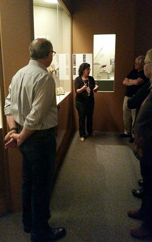 photo of Teri Bernstein talking