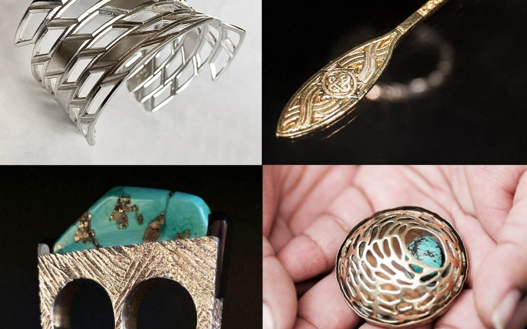HOW IT WAS HANDED TO ME: Conversation with Adrian Standing Elk Pinnecoose, Kenneth Johnson, Samuel LaFountain, and LeOreal Wall with Santa Fe Indian School Jewelry Students