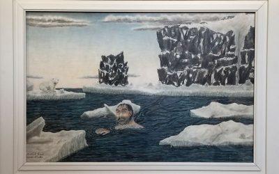 """""""The Giant Eskimo"""" by James Kivetoruk Moses"""