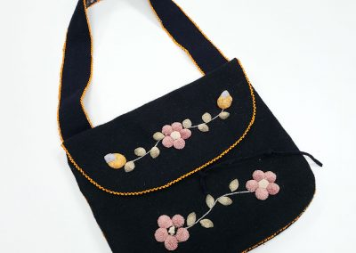 Wool Purse with Strap