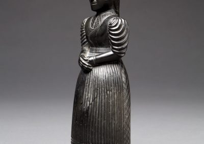 Sculpture of a Haida Woman